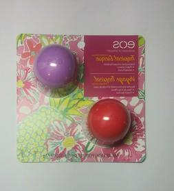 EOS^* 2pc Set TROPICAL ESCAPE Lip Care BALM OR SCRUB Limited