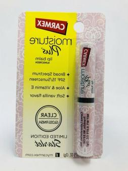 ONE Carmex Moisture Plus Lip Balm SHEER SPF15 Soft Vanilla