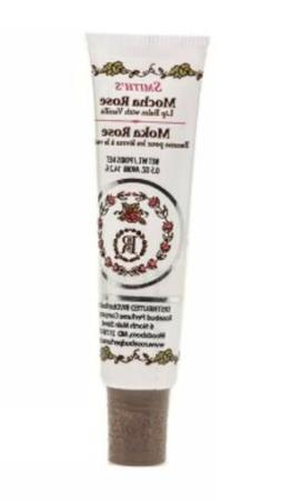 1 ROSEBUD Smith's Mocha Rose Lip Balm Tube 0.5 oz