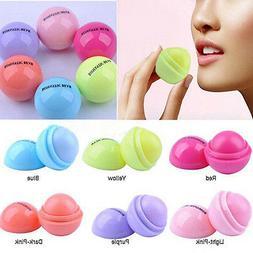 Fashion Lip Balm Care Fruit Flavor Cream Ball Box Lipstick L