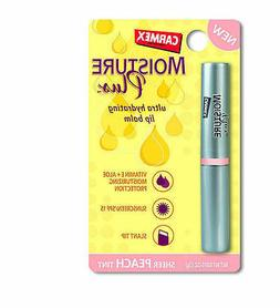 1 x Carmex MOISTURE PLUS Ultra HYDRATING LIP BALM Peach TINT