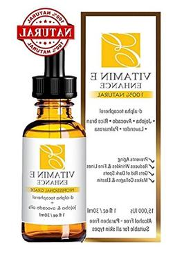 100% Natural & Organic Vitamin E Oil For Your Face & Skin -