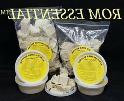 100% Organic Raw African Shea Butter Unrefined 2 oz. / 3 pou