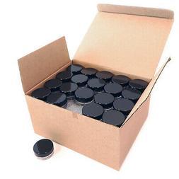 100 Sample Cosmetic Lid Jars Lip Balm Eye Makeup Lotion Crea