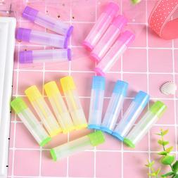 10pcs 5 Ml Of Lipbalm Plastic Pipes Tubes Colourful Fashion