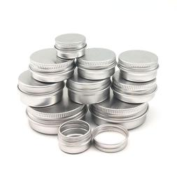 10PCS Cream Jar <font><b>Tin</b></font> Cosmetic <font><b>Li