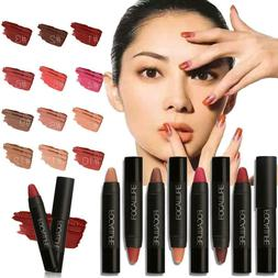12 Colors Set Waterproof Long Lasting Lipstick Matte Lip Glo