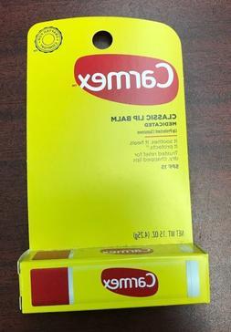 12 Carmex Original Moisturizing Medicated lip balm Stick  SP