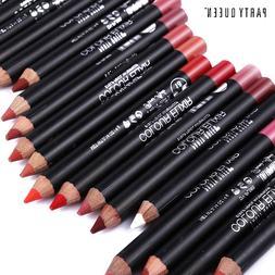 1pc 20 Colors <font><b>Lip</b></font> Liner Pencil Pen Water