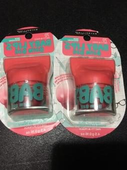 2 Maybelline New York Baby Lips Balm Ball - PRETTY IN PEACH
