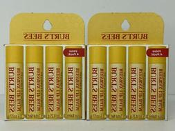 2 Burt's Bees Lip Balm, Vitamin E & Peppermint Bundle Boxes