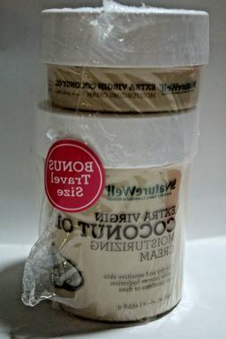 2 Nature Well Extra Virgin Coconut Oil Moisturizing Cream -1