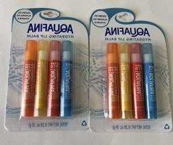2 - Aquafina Hydrating Lip Balms Jojoba & Almond Oil Vitamin