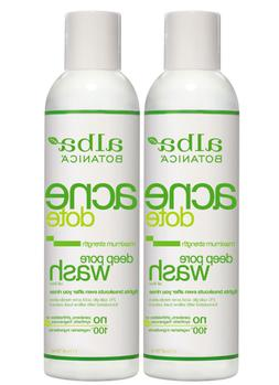 Alba Botanica Natural Acne Dote Deep Pore Wash 6 fl oz  Exp