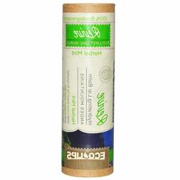 2 Pack Eco Lips One World Revive Herbal Mint Lip Balm BRAND