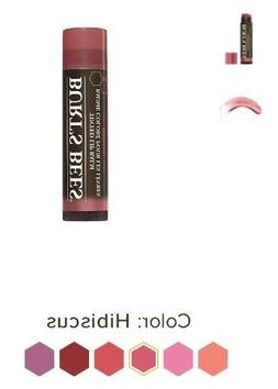 2 Pack of Burt's Bees Tinted Lip Balm, 100% All Natural 0.15