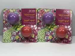 2 Packs EOS Smooth Tropical Escape Lip Balm-Pink Coconut & I