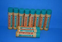 2 pcs BURT'S BEES Soothing Lip Balm Eucalyptus & Menthol