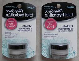 2 Chap Stick Total Hydration Lip Scrub Exfoliates & Smoothes