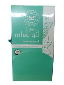 24 pack The Honest Company Organic Lip Balm Lavender Mint Ne