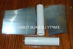 250 Clear Shrink Wrap Bands Sleeves for Lip Balm  Tubes Tamp