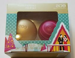 eos 2pc Set Limited Edition Lip Balm Organic Fireside Chai &