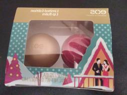 *eos 2pc Set Limited Edition Lip Balm Organic Fireside Chai