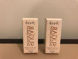 2x Fresh Sugar Advanced Therapy Lip Treatment Travel Size 0.