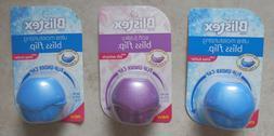 3 Blistex Bliss Flip Under Cap:Silk Extracts & Shea Butter A