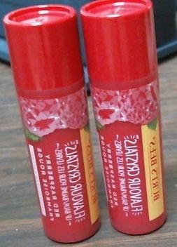 Burt's Bees Flavor Crystals 100% Natural Lip Balm, Red Rasp