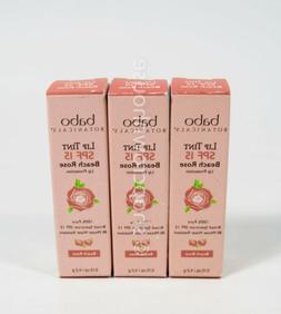 3 Babo Botanicals Lip Tint SPF 15 Lip Treatment Conditioner