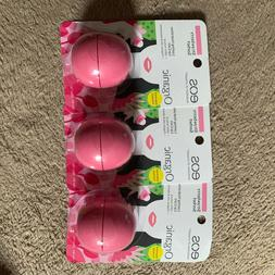 3 EOS Organic Evolution oF Smooth Lip Balm .25oz - STRAWBERR