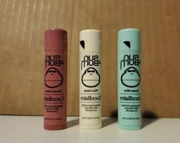 3 pack Sun Bum Lip Balm SPF 30+Variety Pina Colada Ocean Min