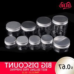30/40/50/60/80/100/120/200/250ML Cosmetic Travel Empty Bottl