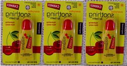 CARMEX* 3pc Lip Balm Soothing & Everyday Lip Conditioner Wit