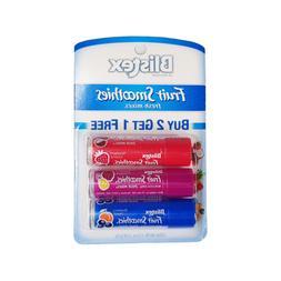 BLISTEX* 3pc Set FRUIT SMOOTHIES Lip Balm FRESH MIXES Moistu