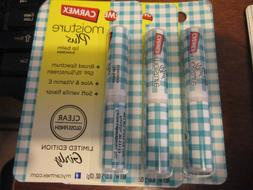3x Carmex Moisture Plus Lip Balm sunscreen SHEER SPF15 GIRLY