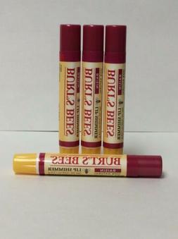 4 Burt's Bees Lip Shimmer* Raisin* New
