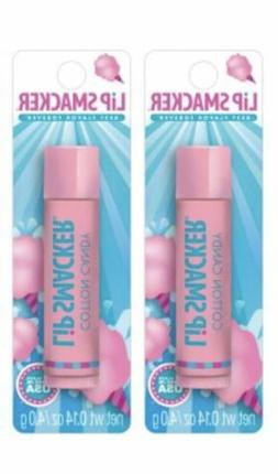 2 Pack Bonne Bell Lip Smackers Lip Balm Cotton Candy 0.14 oz
