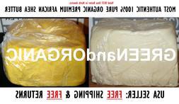 5 Lbs African Shea Butter 100%Pure Raw Organic Unrefined Bul