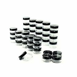 50 Pcs 5 Grams Cosmetic Empty Sample Small Containers Jar Ma