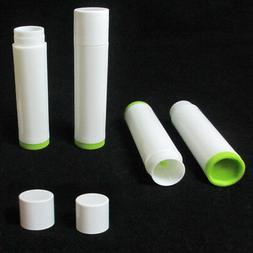 50X Lot Empty Lipstick Lip Balm Container Tube Case Caps Jar
