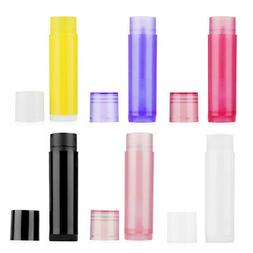 5ml Lipstick Tube DIY Lip Balm Containers Empty Cosmetic Glu
