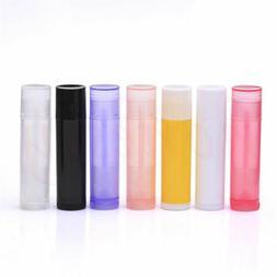 5pcs 5g Lip Balm Tubes Empty Lipstick Containers DIY Cosmeti