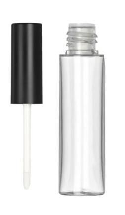5x 7mL Empty Clear Lip Gloss Lipstick Tubes Lip Balm Bottle