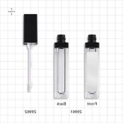 5x 7mL Pretty Empty Clear Lip Gloss Tubes Lip Balm Bottle Co