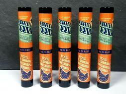 5X Perfectly Posh Caffeinated Lip Balm ZESTY ORANGE & SPARKL