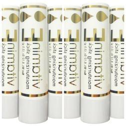 6 x Naturally Pure Vitamin E Moisturizing Sticks 3.5 grams A