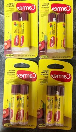8 sticks cherry lip balm sunscreen spf15