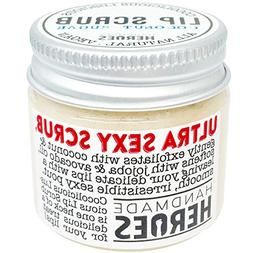 All Natural, Vegan Coconut Lip Scrub - Gentle Exfoliation, 1